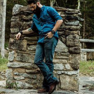 Levi's 527 Slim Bootcut Jeans.